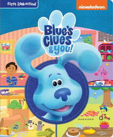 Blue's Clues and You My First Look and Find - Édition anglaise