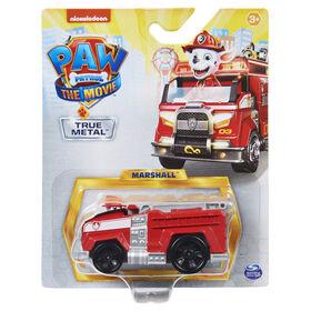 PAW Patrol, True Metal Marshall Collectible Die-Cast Vehicle, Movie Series 1:55 Scale