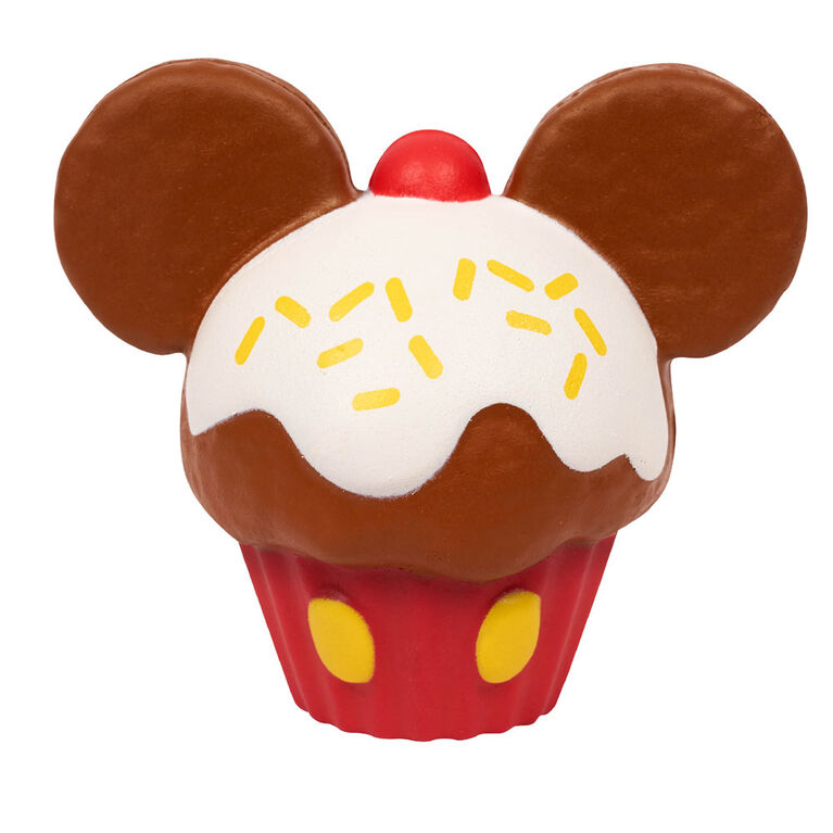 Disney Squeezies-Mickey-Series 1-By Enzo Kawaii-Mickey Cupcake