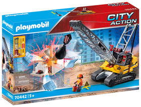 Playmobil - Cable Excavator with Building Section