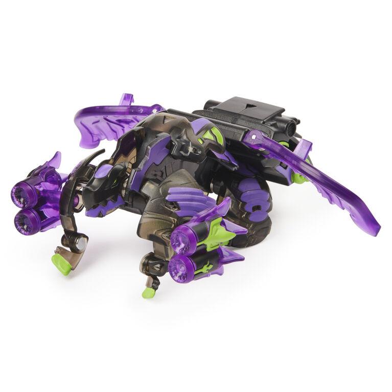 Bakugan Ultra, Gillator with Transforming Baku-Gear, Armored Alliance 3-inch Tall Collectible Action Figure