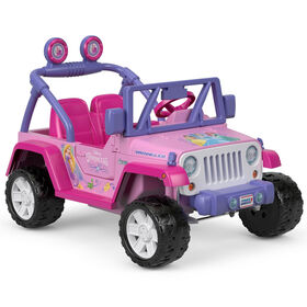 Fisher-Price - Power Wheels - Jeep Wrangler - Disney Princess