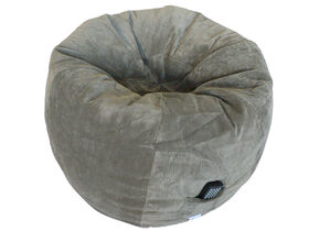 Boscoman - Corduroy Adult Bean Bag - Gray