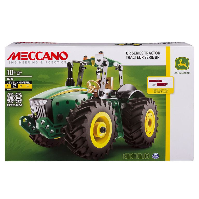Meccano John Deere 8R Series Tractor