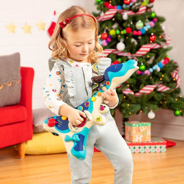 B. Toys Woofer, Interactive Dog Guitar