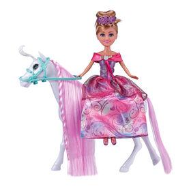Sparkle Girlz Princess Doll with Royal Horse by ZURU
