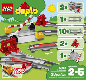 LEGO DUPLO Town Les rails du train 10882