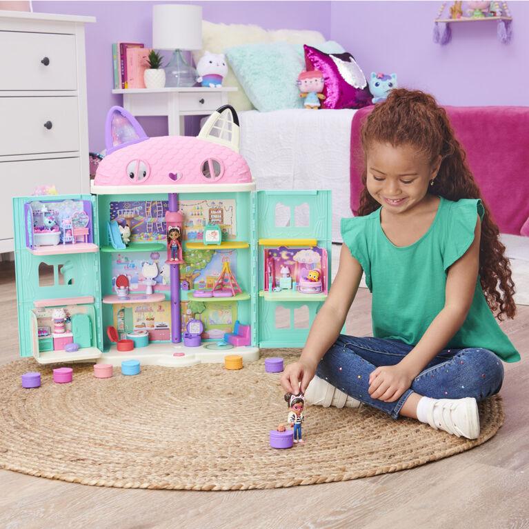DreamWorks, Gabby's Dollhouse, Friendship Pack avec Gabby Girl, figurine et accessoire surprises