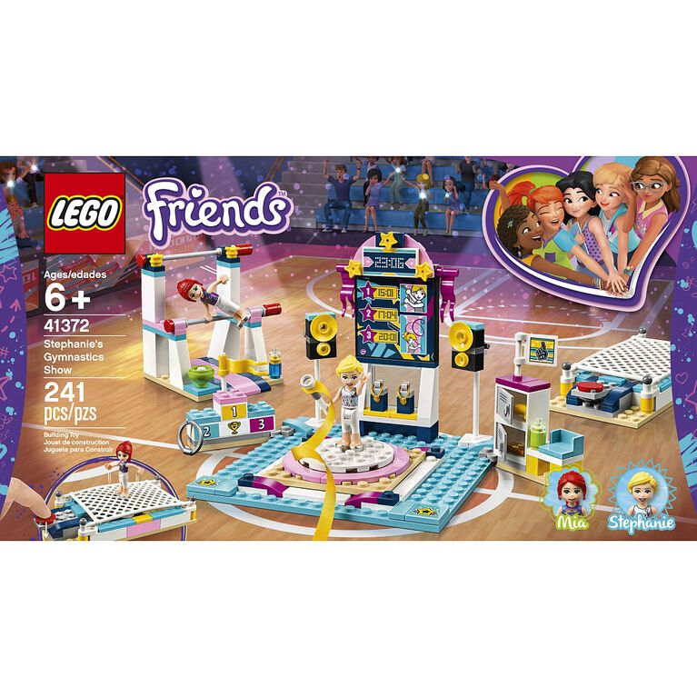 LEGO Friends Stephanie's Gymnastics Show 41372