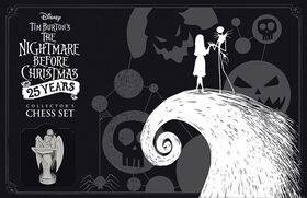 The Nightmare Before Christmas 25 Ans, Jeu D'Echecs De Collectionneur