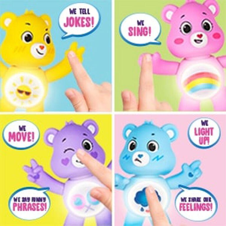 Care Bears Débloquez les figurines interactives magiques - Grumpy Bear - Édition anglaise
