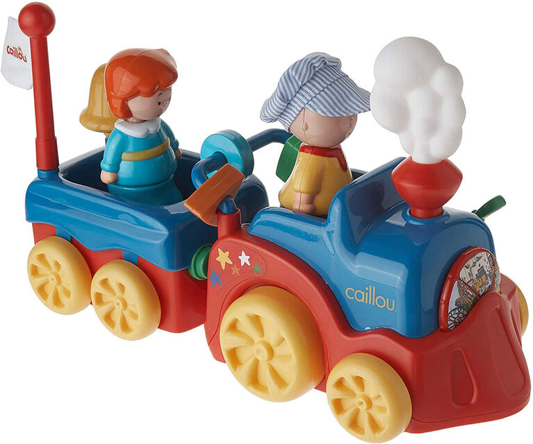 Caillou's Adventure Train - French Edition