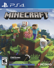 PlayStation 4 Minecraft Starter Collection