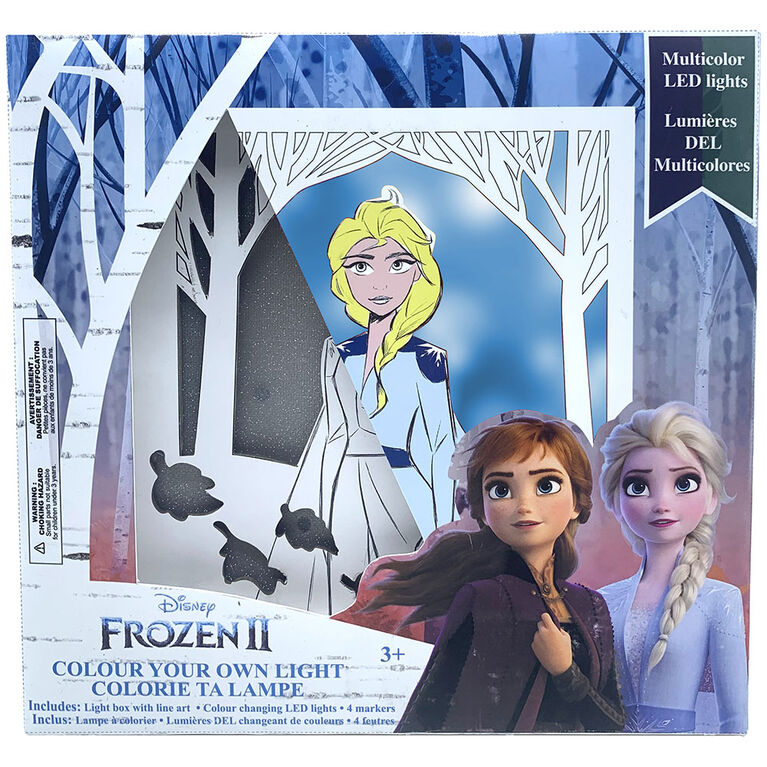 Frozen II Colour Your Own Light