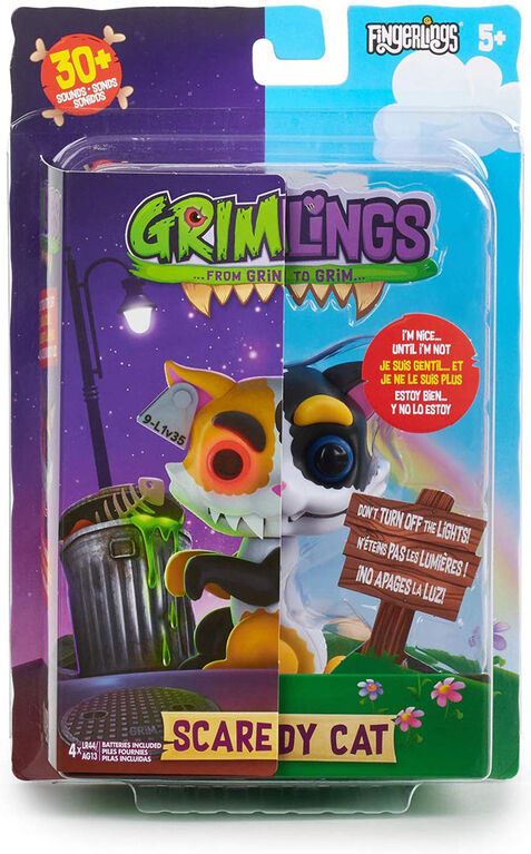 Grimlings - Chat - Jouet animal interactif - par WowWee