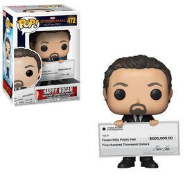 Figurine en vinyle Happy Hogan de Spider-Man par Funko POP!.