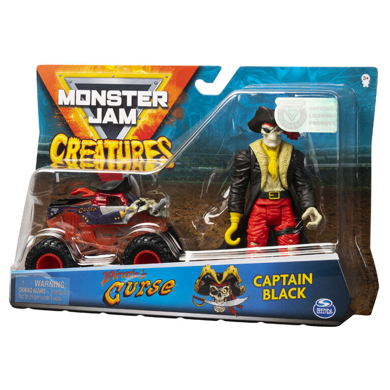 Monter Jam 1:64 Creature Figures