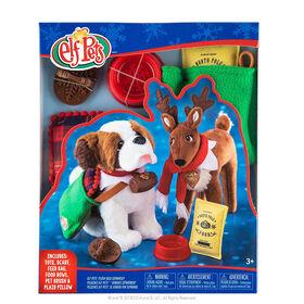 Claus Couture Collection- Sac de jouets et foulard festif