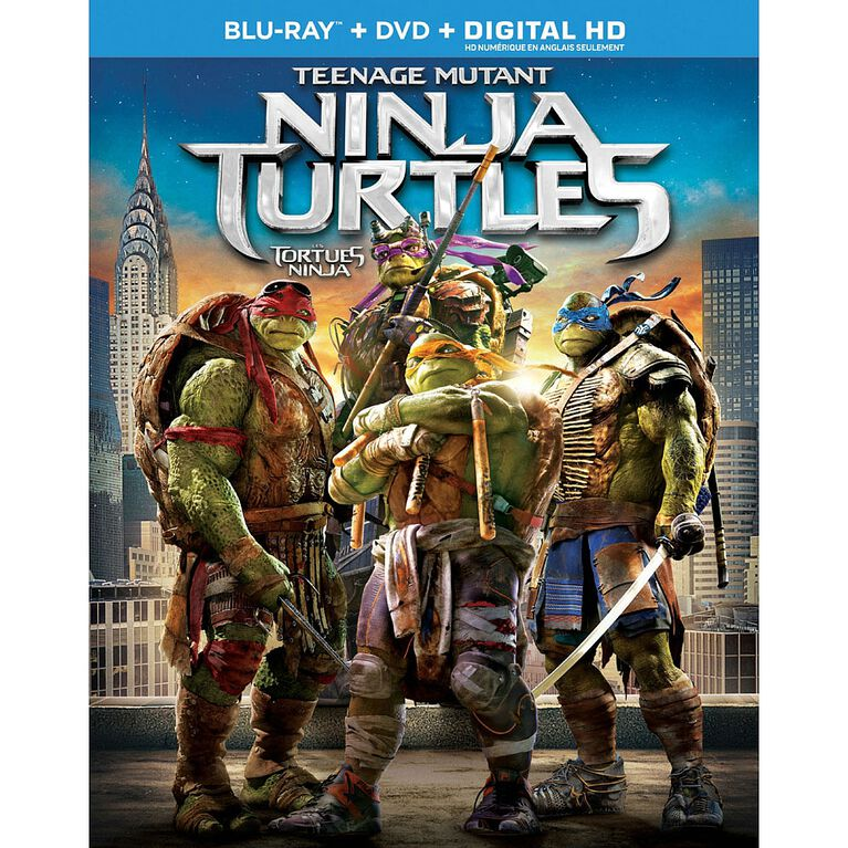 Teenage Mutant Ninja Turtles - Blu-ray + DVD + Digital HD