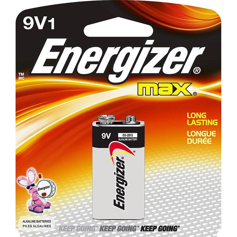 Energizer Max - 9V Batteries - Single Pack