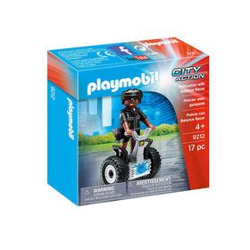 Playmobil - Policeman with Balance Racer