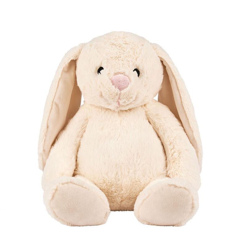 Peluche lapin de l'amitié blanc de 32 cm Animal Alley - Notre exclusivité