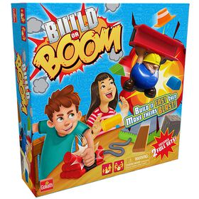 Goliath Games: Build Or Boom Game