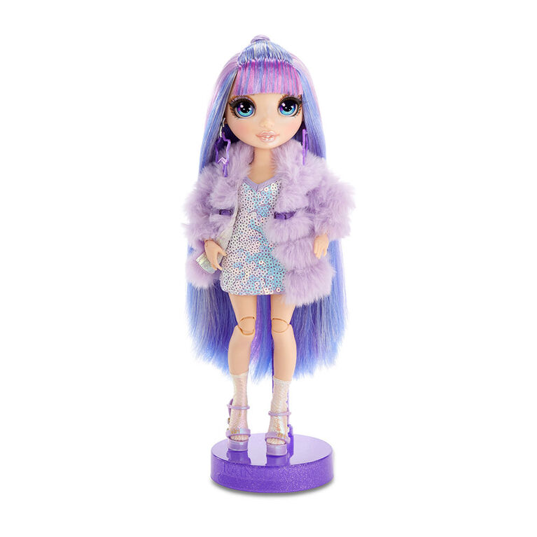 Rainbow High Violet Willow - Purple Fashion Doll with 2 Outfits