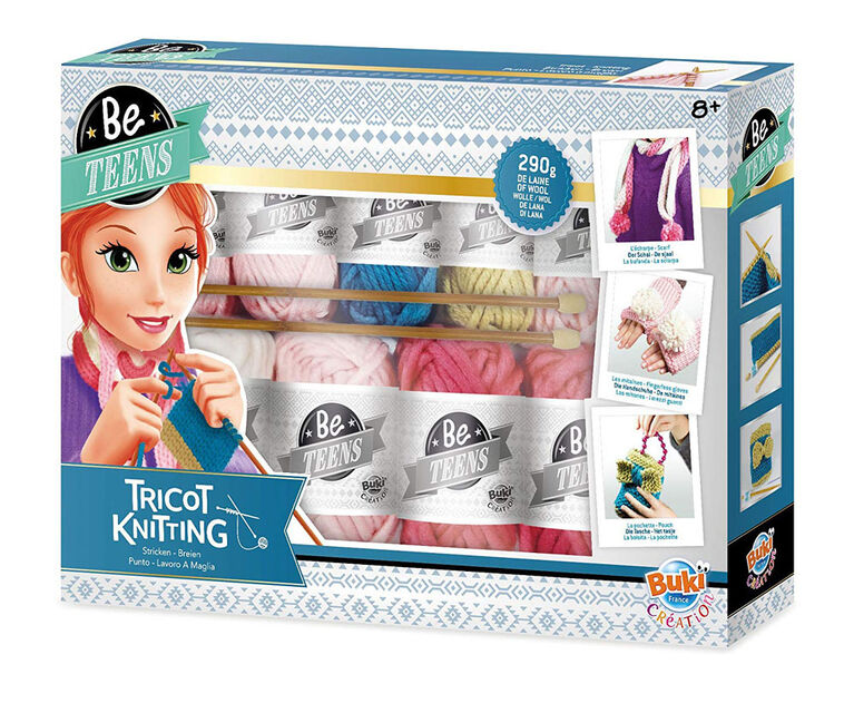 Buki Be Teens Knitting