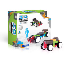 Guidecraft IO Blocks® - Race Cars Set