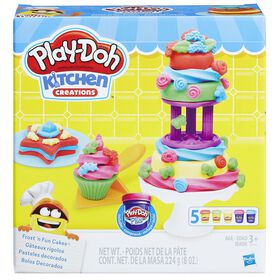Play-Doh Kitchen Creations - Gâteaux rigolos.