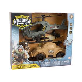Soldier Force Double Assault Vehicles Set - R Exclusive