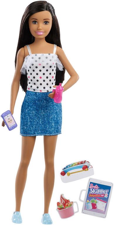 Barbie Skipper Babysitters, Inc. Doll & Accessories