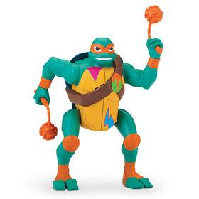 Rise of the Teenage Mutant Ninja Turtles - Michelangelo Pop-Up Ninja Attack Deluxe Action Figure