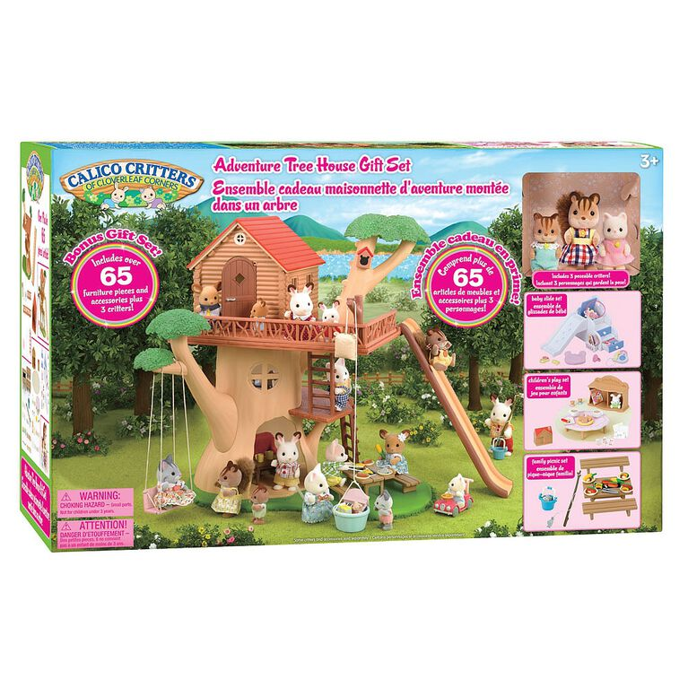 Calico Critters - Adventure Treehouse Gift Set
