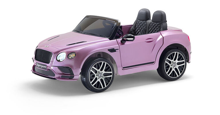 Bentley 12V Ride on - Pink - R Exclusive