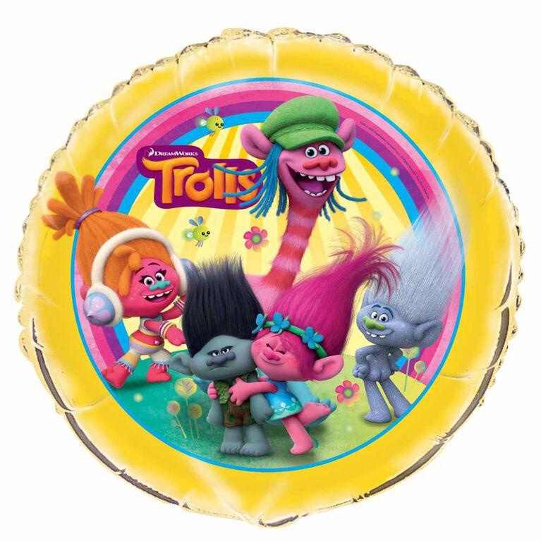 "Trolls Round Foil 18"""