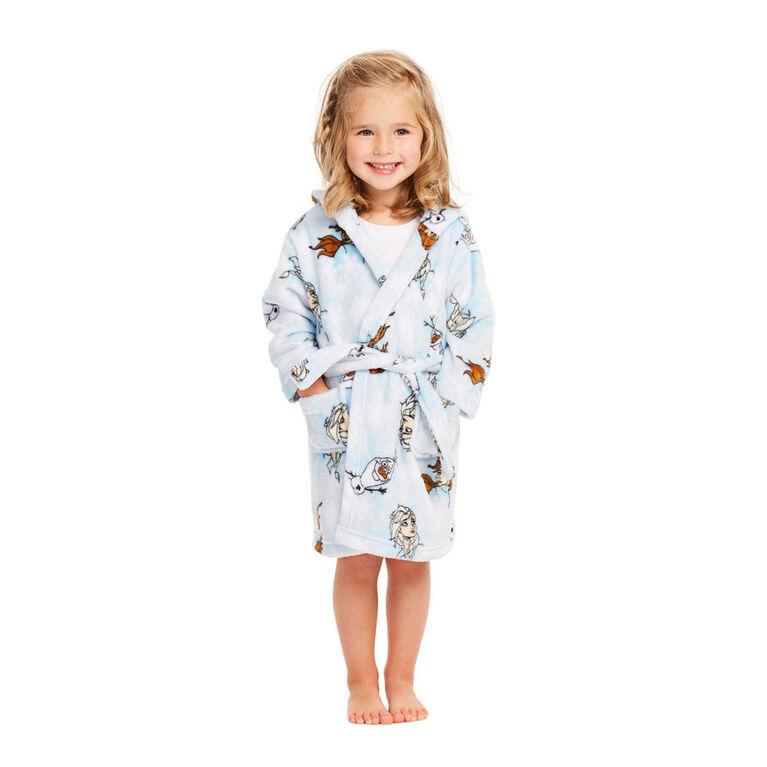 Disney Robe de chambre La Reine Des Neiges II bleue - Taille 2