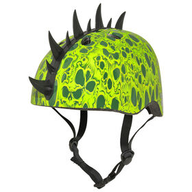 Krash - Skull Swarm Youth 8+ Bicycle Helmet - Green