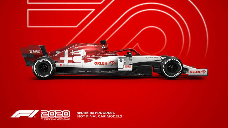 PlayStation 4 F1 2020