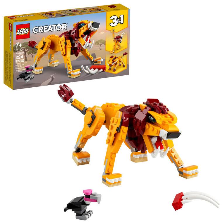 LEGO Creator Le lion sauvage 31112