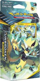 Pokemon Sun & Moon 10 Unbroken Bonds Theme Deck - Zeraora
