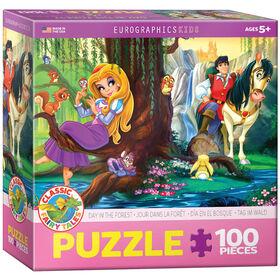 Eurographics jour dans la forêt 100 Piece Puzzle