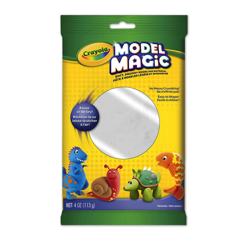 Model Magic, blanc, 4 oz