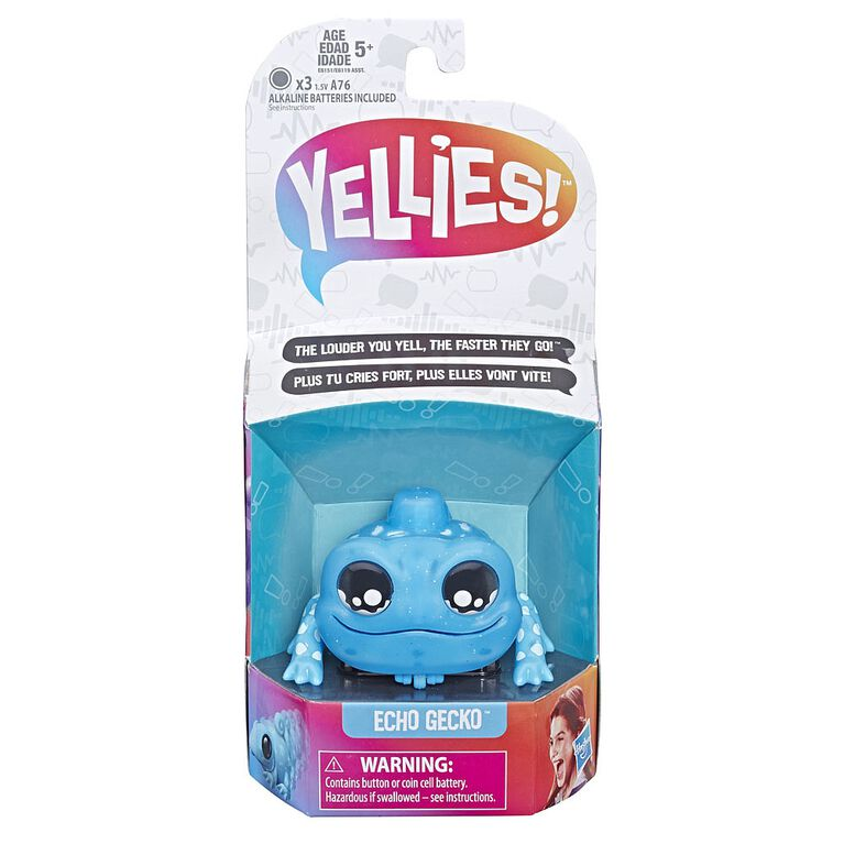 Yellies! Echo Gecko Voice-Activated Lizard Pet