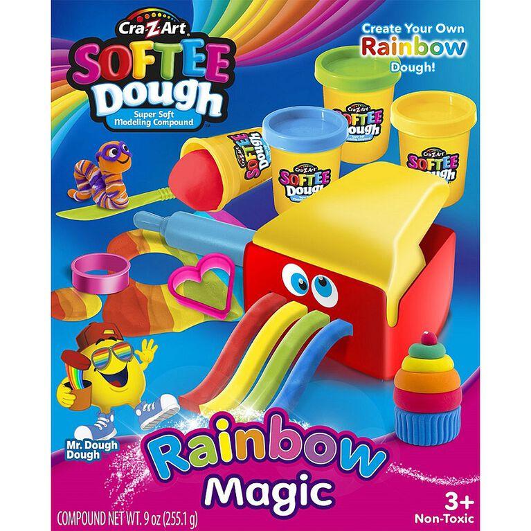 Cra-Z-Art - Softee Dough Rainbow Magic