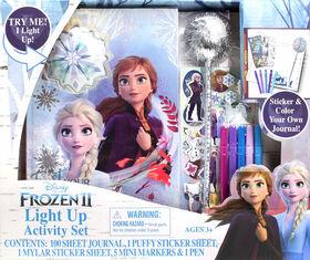Frozen II Light Up Activity Set