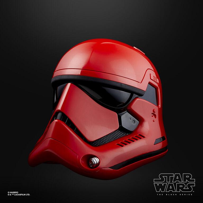 Star Wars The Black Series Galaxy's Edge Captain Cardinal Electronic Helmet - R Exclusive
