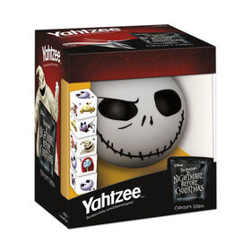 Yahtzee Game: Tim Burton's The Nightmare Before Christmas Collector's Edition Jack Skellington
