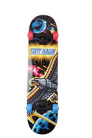 Planche à roulettes de 31 po. Popsicle Space Hawk de Tony Hawk avec pro trucks et roulements ABEC 1